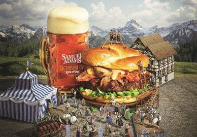 Oktoberfest-Inspired Burgers