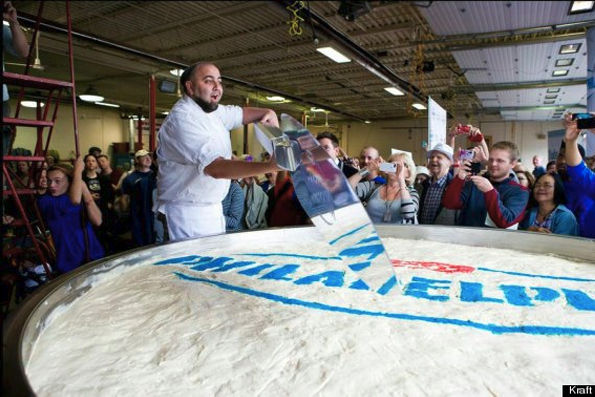 worlds largest cheesecake