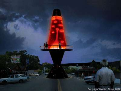 60 Ft Urban Lava Lamps