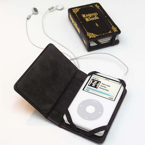 Hymn Book Becomes iPod Cover