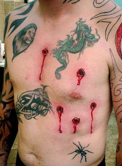 Inked Injuries