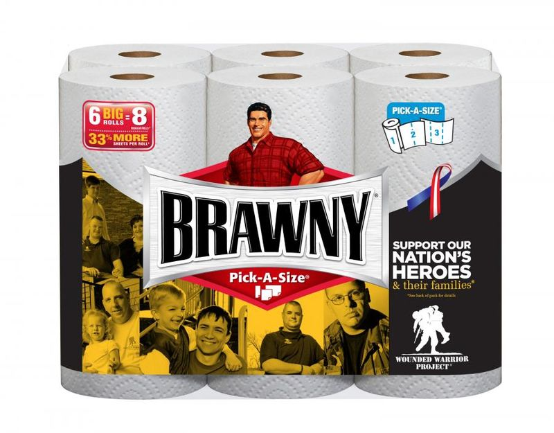 Quill com   HOT  Buys on Glad Trash Bags  Brawny Paper Towels      br   Record how much water the paper towel absorbed in a data table  br    Do   tests for all the other paper towels  Then I averaged the results