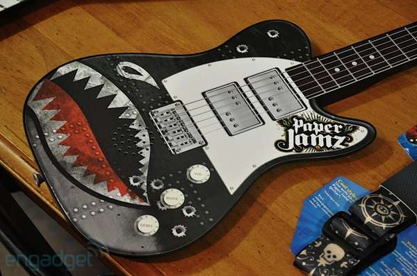 Papercraft Guitars