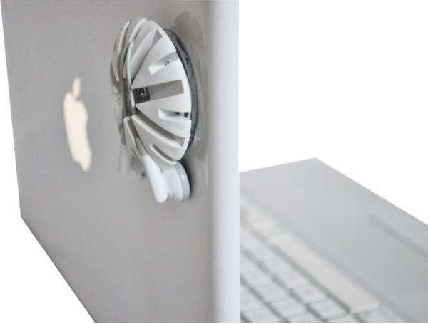 Laptop Headphone Clamps
