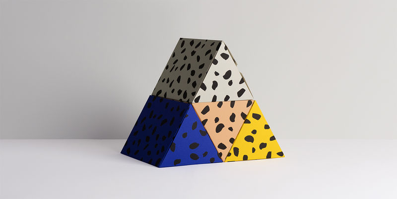 Abstractly Designed Gift Boxes