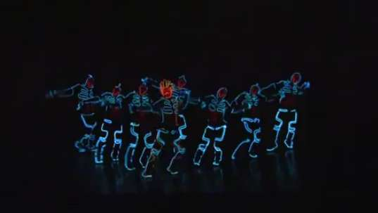 Light-Up Dubstep Dances