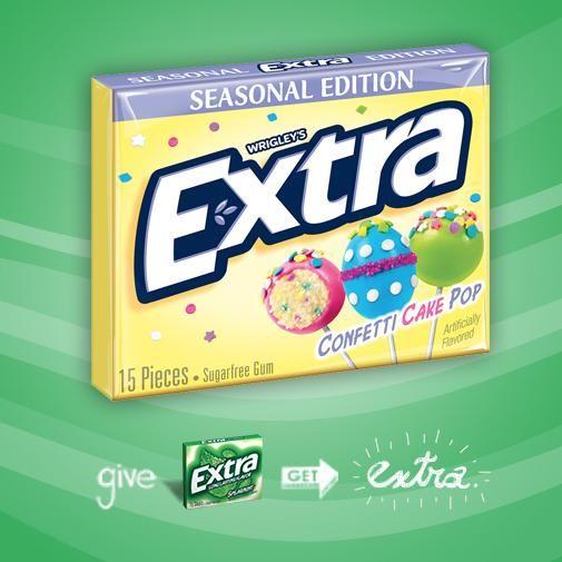 Cake Pop Chewing Gum