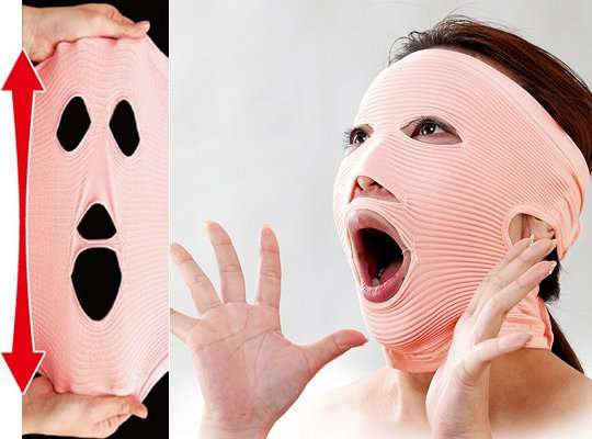 Wrinkle Eliminating Masks
