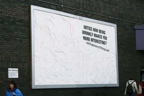 Wrinkly Billboards