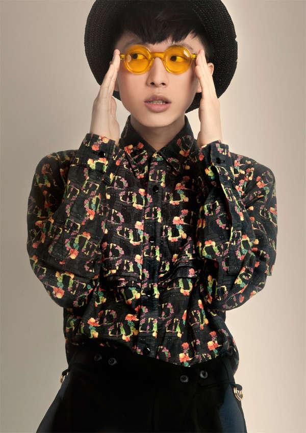 Patterned 90s Menswear