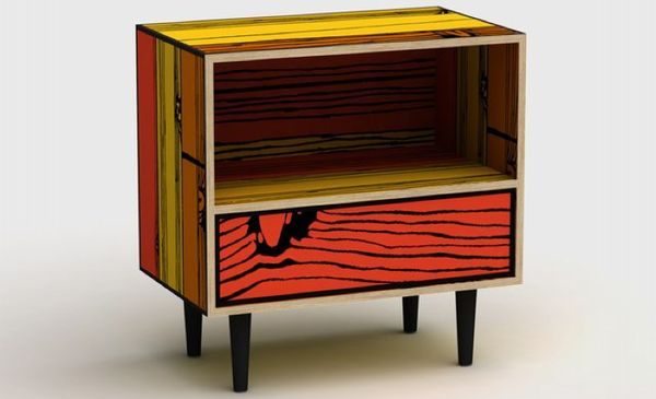 Comic-Like Cabinets