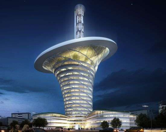 Wuhan Energy Flower World S Most Sustainable Office Building Wuhan China