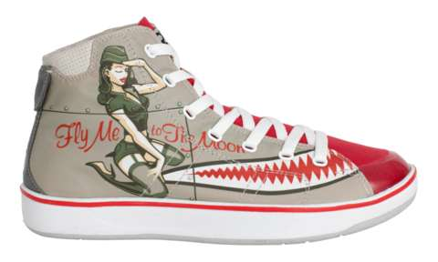 Pin-Up Girl Sneakers