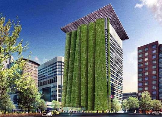 Folding Vertical Gardens