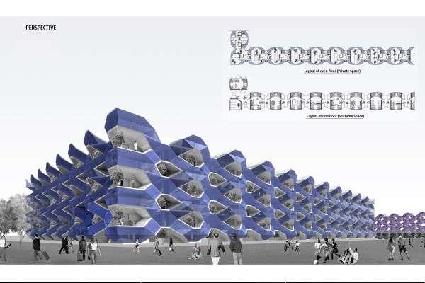 Criss-Crossing Architecture