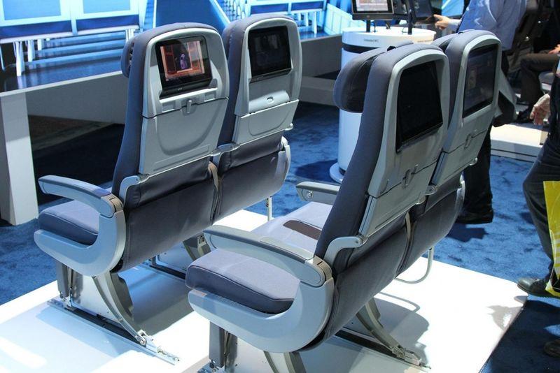 High-Tech Airline Seats