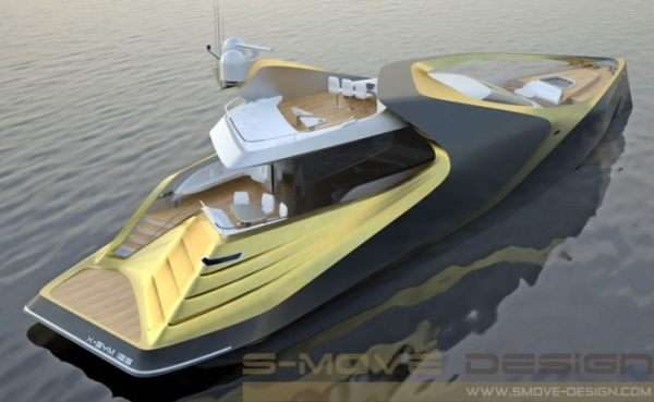 Asymmetrical Superyachts