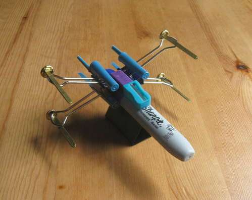 Office Supply Sci-Fi Fighters