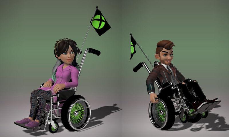 Wheelchair Gaming Avatars