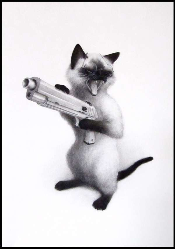 Gun-Wielding Critters