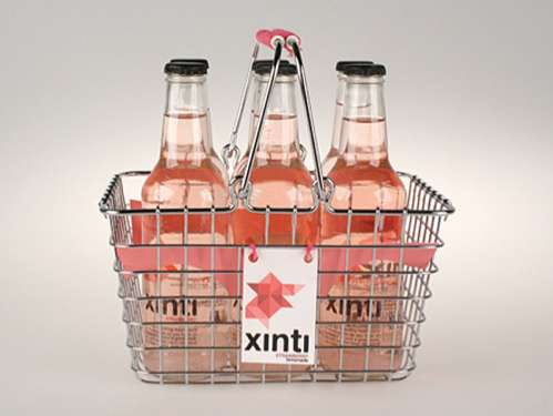 Xinti Lemonade packaging