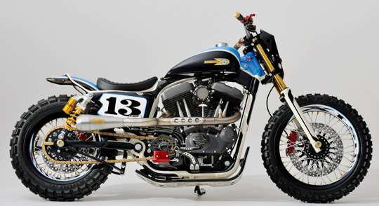 Retro-Revival Dirt Bikes