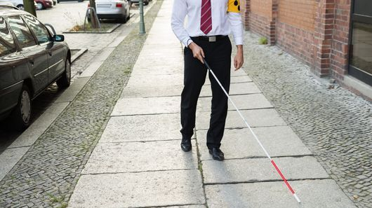 Facial Recognition Walking Canes