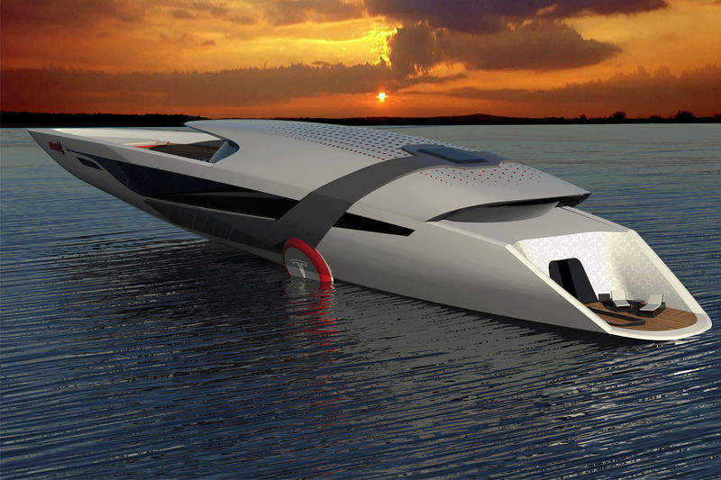 Eco Electric Yacht Boats