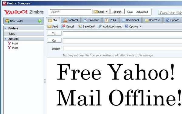 Yahoo Mail Offline Free