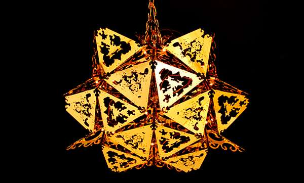 Kaleidoscopic Light Fixtures