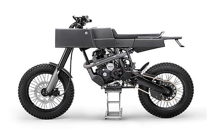 Boxy Industrial Motobikes