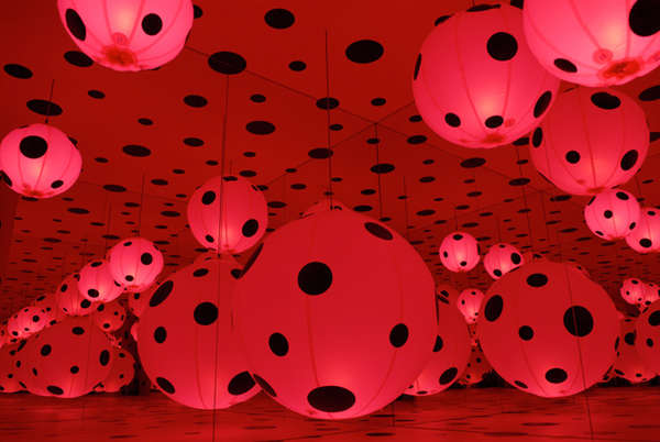 Dotted Balloon-Inspired Installations