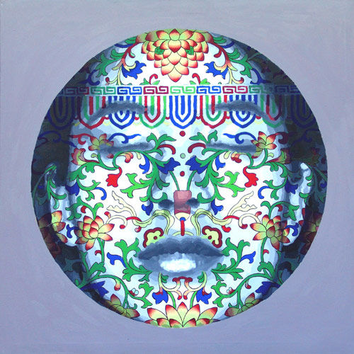 Patterned Face Paintings