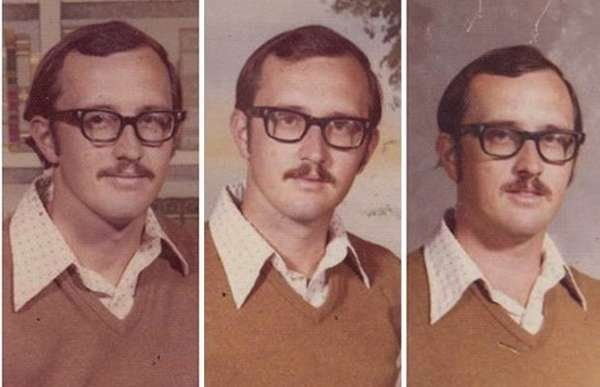 Comically Repetitive Yearbook Photos