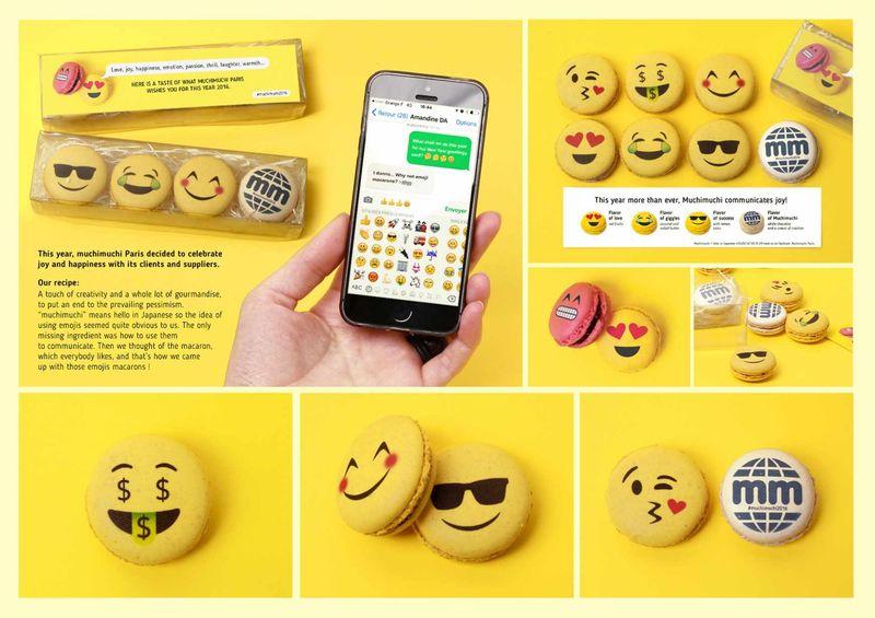 Emoji-Inspired Macarons