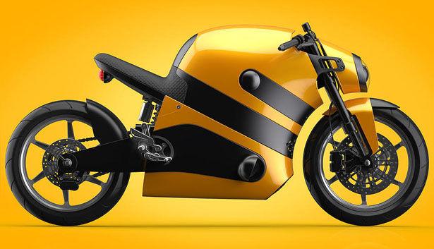 Buzzing Bumblebee Motorbikes