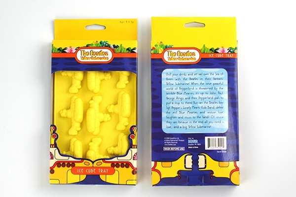 Yellow Submarine Ice Tray