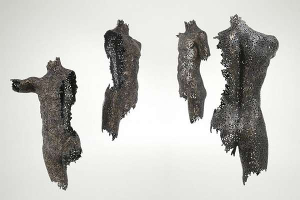 Welded Chain Sculptures Yeong Deok Seo