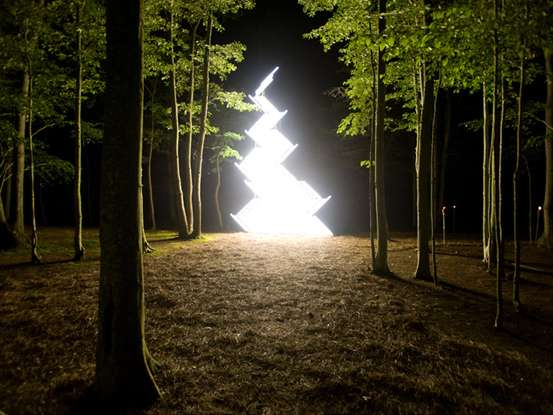 Illuminated Art Installations