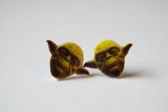 Miniature Jedi Master Jewelry