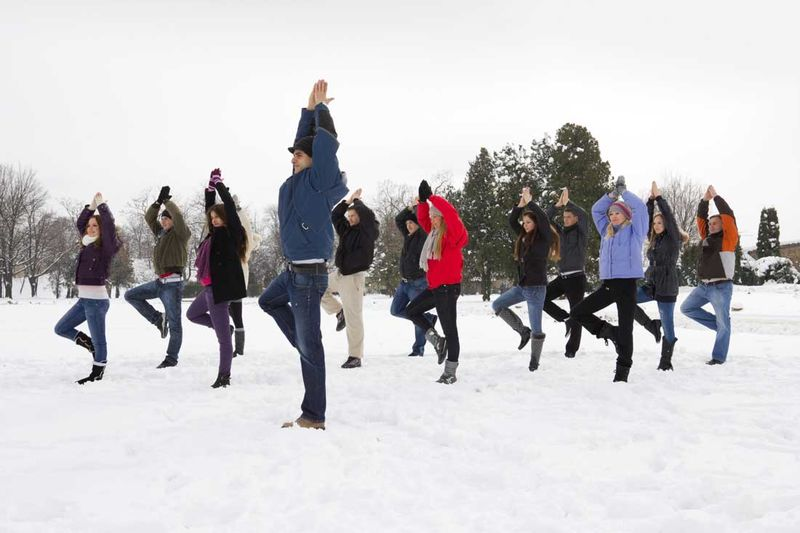 Snowy Yoga Classes
