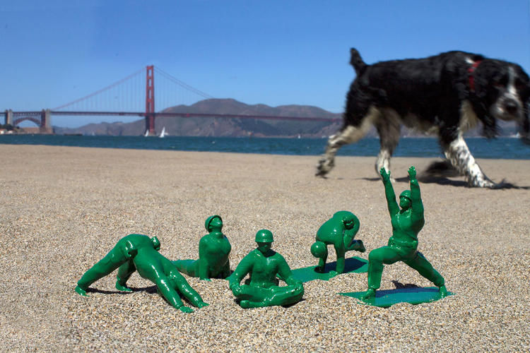 Flexible Army Men Toys