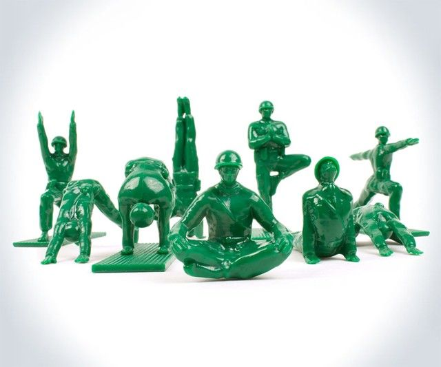 Gymnastic Army Men