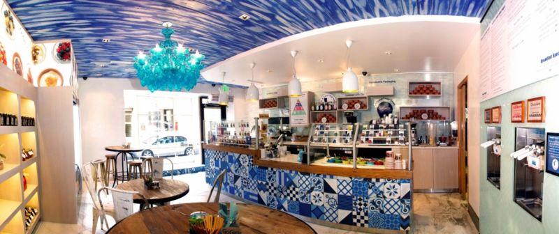 Mediterranean Yogurt Shops Yogurt Store