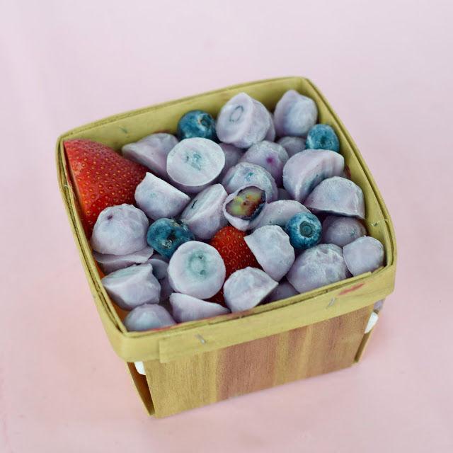 Healthy Yogurt-Covered Berries