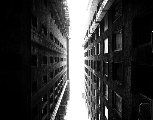 Vertical Perspective Photography