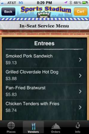 Concession Stand Apps