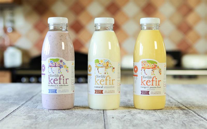 Flavoured Kefir Drinks