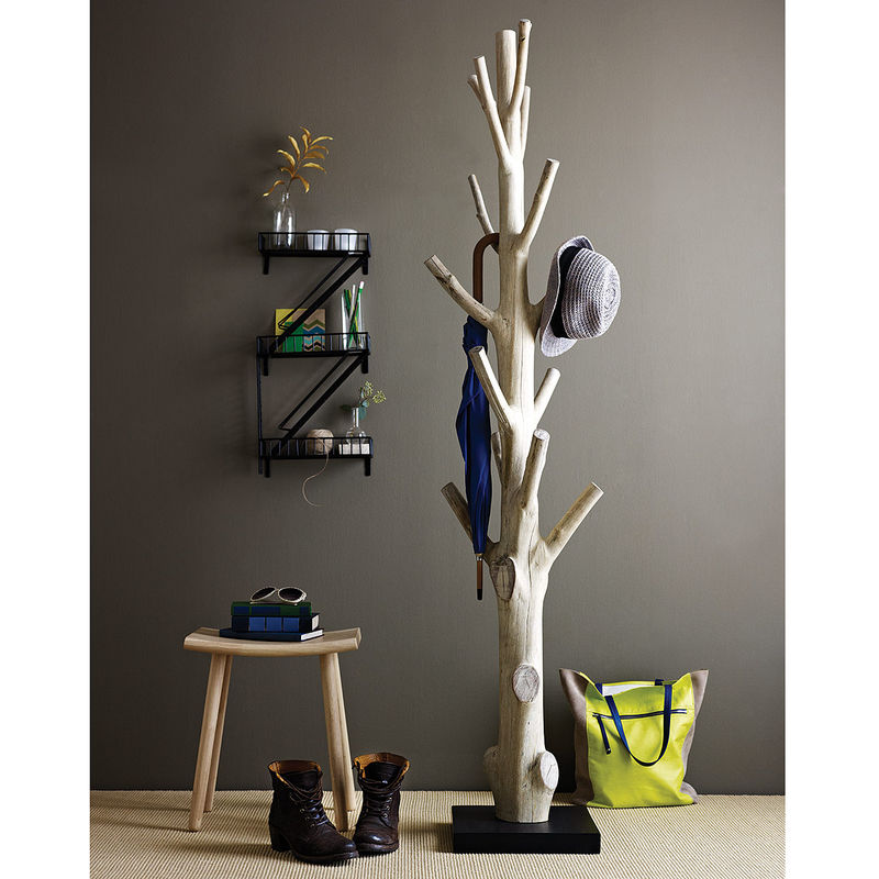 Tree Trunk Coat Racks