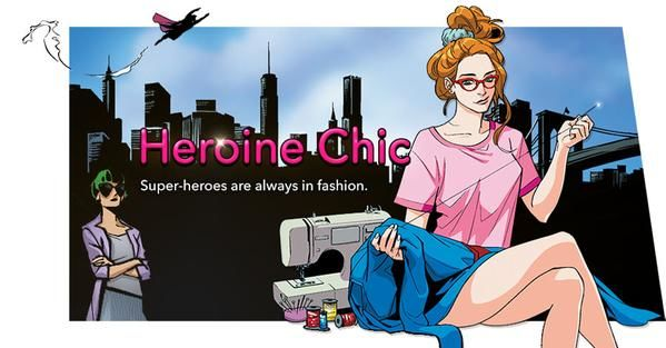 Fashion-Forward Superhero Comics